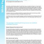 End Effector Gait Trainers - Advantages & Versatility